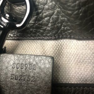 Gucci Bags - GUCCI SOHO PEBBLE LEATHER BAG